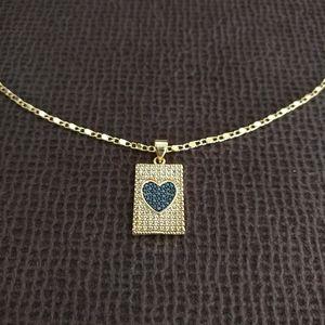 Gemelli👭 Rectangle Pendant Necklace - NWT